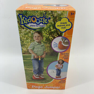 250 Pound Capacity Fun and Safe Play Encourages an Active Lifestyle Kidoozie Foam Pogo Jumper Makes Squeaky Sounds