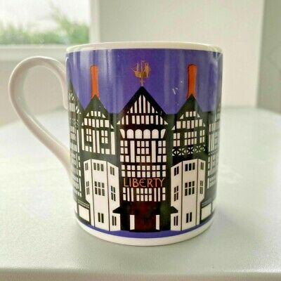 LIBERTY OF LONDON Bone China Mug by Roy Kirkham 2009