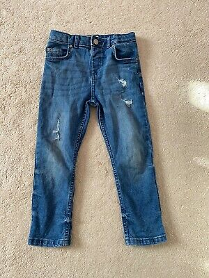Boys River Island jeans x 3 age 4-5 years