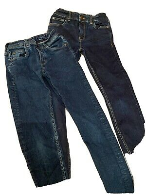 Two Pairs Of Blue Next Skinny Jeans Age 11 Years