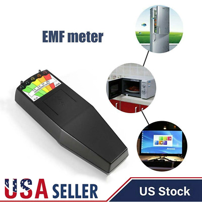 LED EMF Magnetic Field Detector Ghost Hunting Paranormal Equipment Tester
