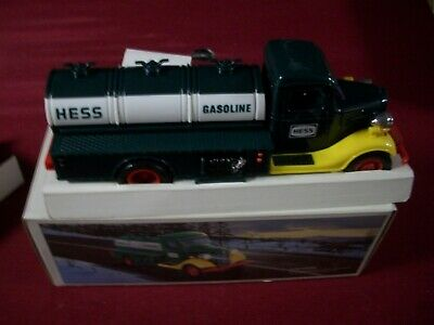 1985 The First Hess Truck Toy Bank,M.i.b.