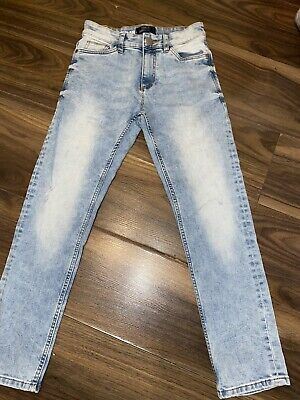 Boys Next Light Blue Denim Jeans Age 11 Years