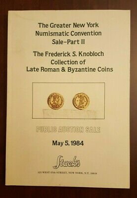 Frederick Knobloch collection catalog of Roman & Byzantine coins - 1984 Stack's