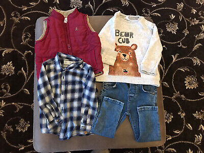12 to 18 Month boys clothes bundle Zara And Gap