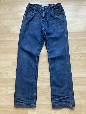 Boys Blue Cotton Denim Jeans Age 11 Years.  Matalan