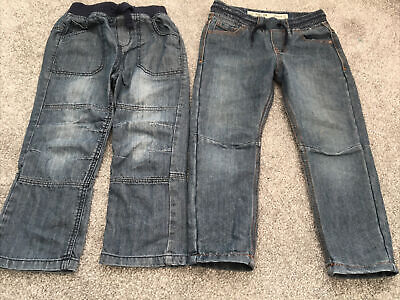 Boys elasticated waist jeans age 3-4 years