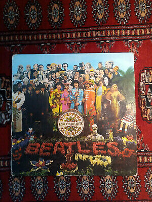The Beatles Sgt Pepper's Lonely Hearts Club Band Vinyl UK 1967 Mono 1st Press LP