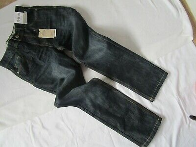 Brand New With Tags Boys Slim Fit Navy Blue Jeans Aged 10-11 Years