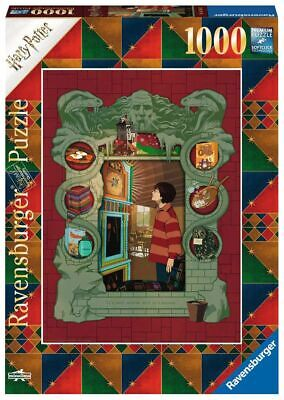 Harry Potter At the Weasleys' Unisex Puzzle multicolore, Plastica,