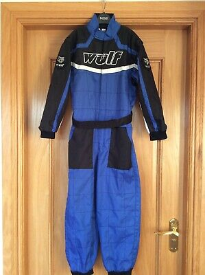 Wulfsport Kids Race Suit Motocross Quad Karting Jnr XL 10-12 yrs