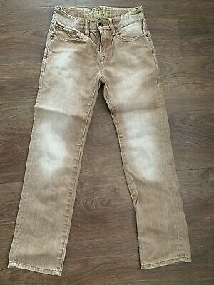 Boys Gap Straight Leg Jeans Age 10 Yrs Ex Cond Adjustable Waist