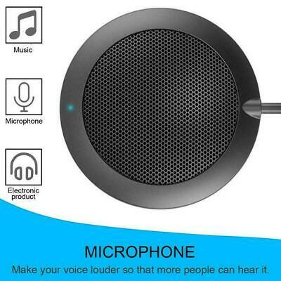 Desktop USB Microphone Condenser Omnidirectional Conference Wired Hot S3S9