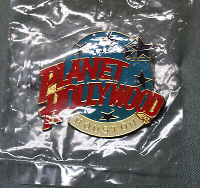 Planet Hollywood Houston Pin - New!