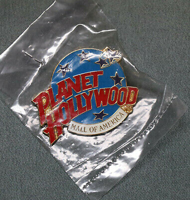 Planet Hollywood Mall Of America Pin - New!