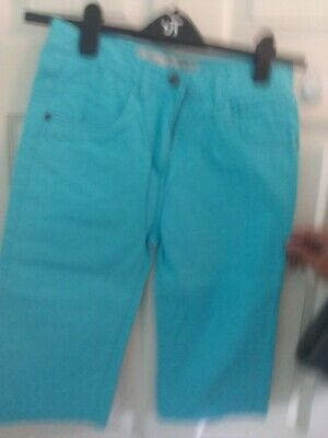 Boys Primark Blue Knee Length Jeans Age 12-13 Years In Good condition