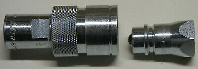 """Pioneer Parker Complete 1/2"""" Hydraulic Coupler, 8250-4 & 8010-4, Replaces 8200-4"""