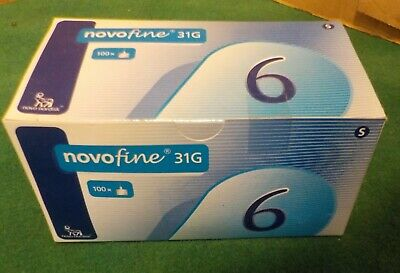 Novofine 6 31g Box of 100 1