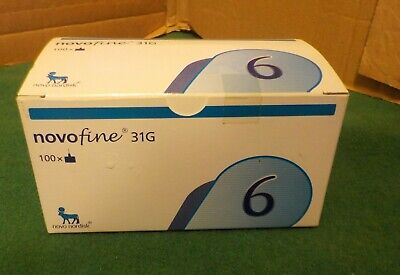 Novofine 6 31g Box of 100 2