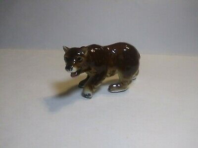 Hagen Renaker Brown Grizzly Bear Miniature Figurine