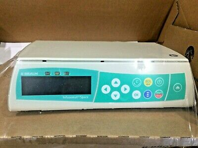 B Braun Infusomat Space Infusion Pump In White No 8713050
