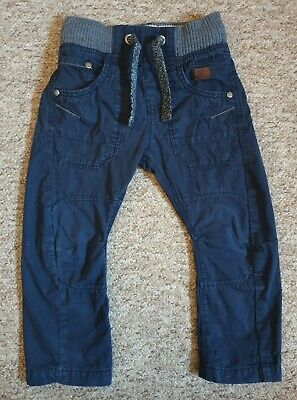 Gorgeous Next Dark Blue Cargo Trousers Size 3 Years Boys Trousers
