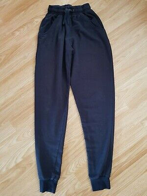 Girls boys blue school P.E jogging bottoms age 12 13 from Primark size 6