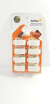 Safety 1st Complete Magnetic Locking System (8 Locks, 1 Key)