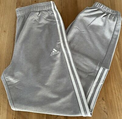 Adidas | Men's Three Stripe Joggers | Grey | Large (W32L32) | New/Without Tags