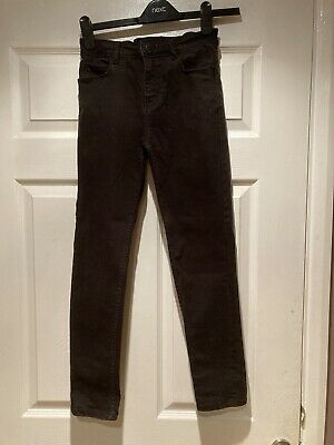 Boy's Next Black Skinny Jeans Aged 12 Years (152cm)
