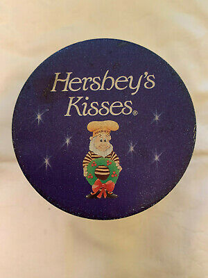 Hershey's Kisses Chocolate Tin Elves HOLIDAY CLASSICS SERIES # 5 VINTAGE 1993