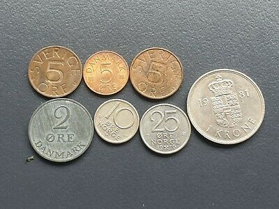 Nordic coin lot
