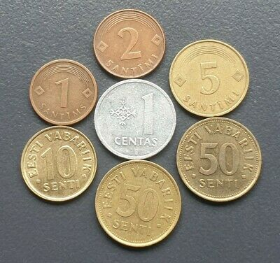 Baltic Europe coin lot