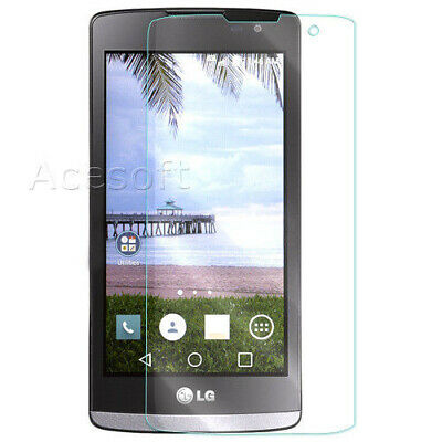 Heavy-Duty Clear 9H Tempered Glass Screen Protector for LG Sunset L33L CellPhone
