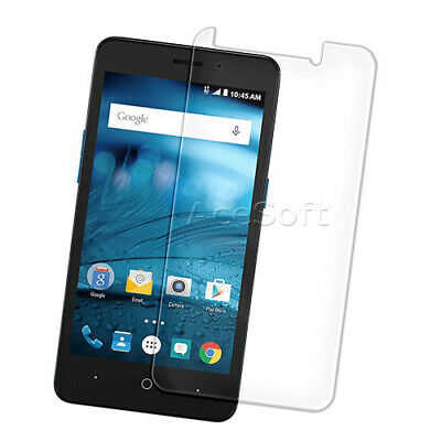 Anti-Shatter Tempered Glass Screen Protector for AT&T ZTE Maven 2 Z831 Cellphone