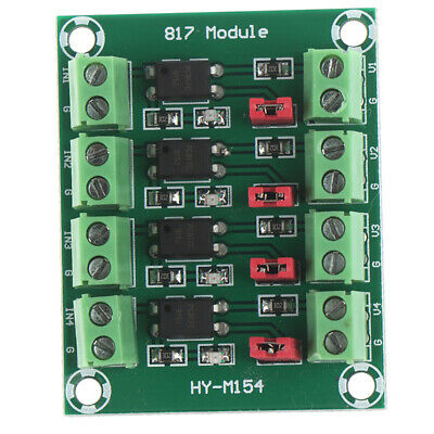 PC817 4-Channel Optocoupler Isolation Module Voltage Converter Modul RSAW HqT*
