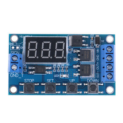 LED DC 5V~36V Dual MOS Control Cycle Trigger Timer Delay Relay Module Switch *