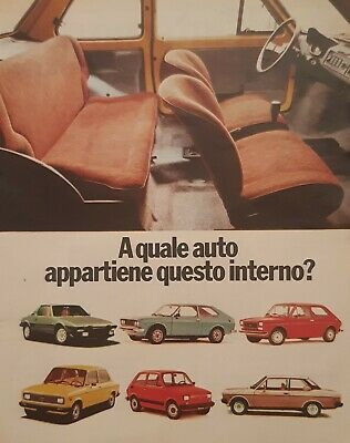 clipping advertising Fiat 126 Personal 1977