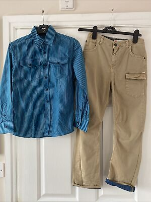 Boys  Next  & River Island  Bundle Shirt / Chino Trousers  Long Shorts 10 Years