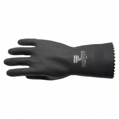 NORTH T950FL Latex WORK GLOVES Heavy Weight Chemical Safety SMALL 7