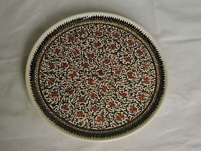 Large Italian Style Round Serving Plate Charger