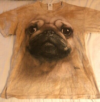 Dog Pug T-Shirt 2011 By Vincent Hie The Mountain Size Large