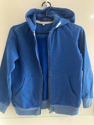 Marks And Spencer Blue Hoody Age 9-10