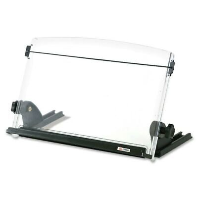 "In-Line Document Holder, 14""x5-1/2""x9-1/2"" , Clear/Black"