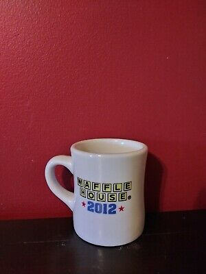 Waffle House 2012 America the Beautiful Coffee Mug / Cup Heavy ~ Tuxton