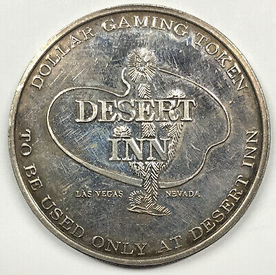 Desert Inn Dollar Gaming Token Las Vegas, NV - .999 fine silver - Franklin Mint