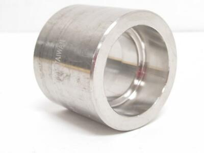 "194230 Old-Stock, Industry-Std 1LUB9 Coupling, SS-304, 1-1/4"" Socket, Class: 300"