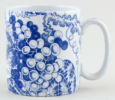 Spode Blue Room Collection Grapes Mug Excellent Condition