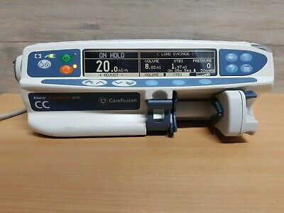 Alaris CC Plus Syringe Pump with Guardrails Safety Software - infusion driver