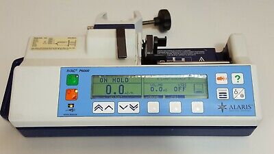 Alaris IVAC P6000 Syringe infusion Pump driver with pole clamp